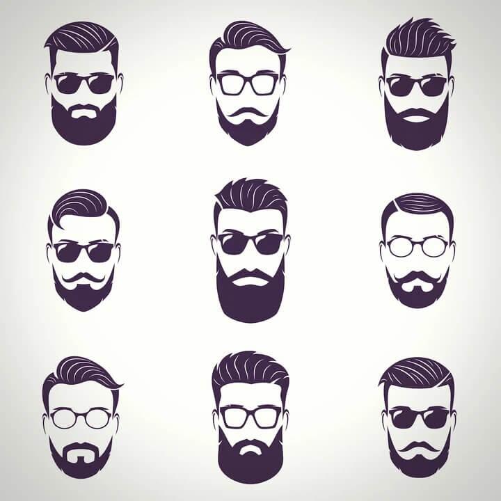 estilos barba bigote