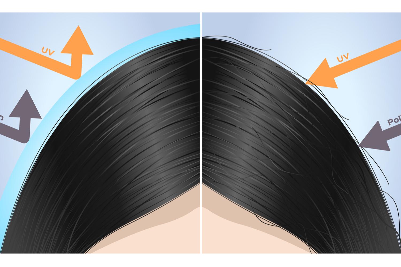 Los efectos de la contaminación en el cabello
